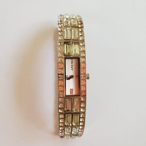 DKNY SWAROVSKI CRYSTAL WOMEN'S WATCH